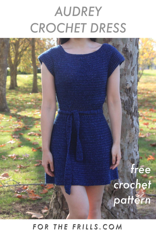 crochet dress cap sleeve easy free pattern