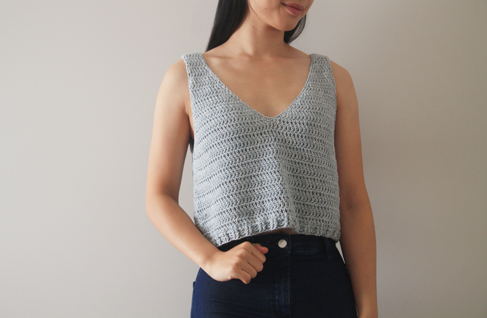 Sea Breeze Tank Top Free Crochet Pattern Video Tutorial For