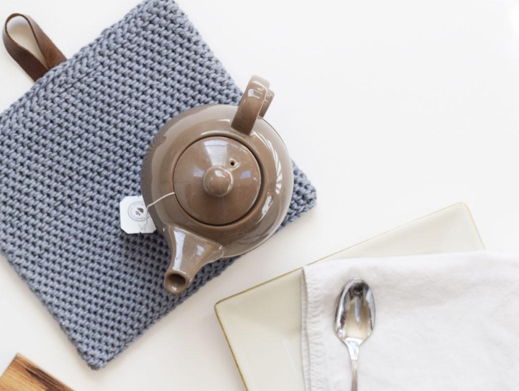 crochet hot pad dishcloth cotton