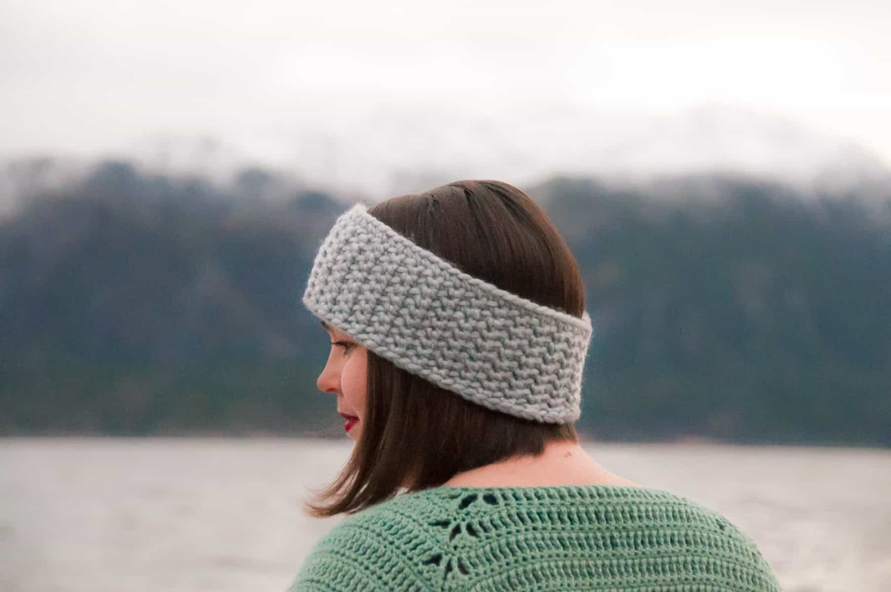 quick and easy crochet ear warmer