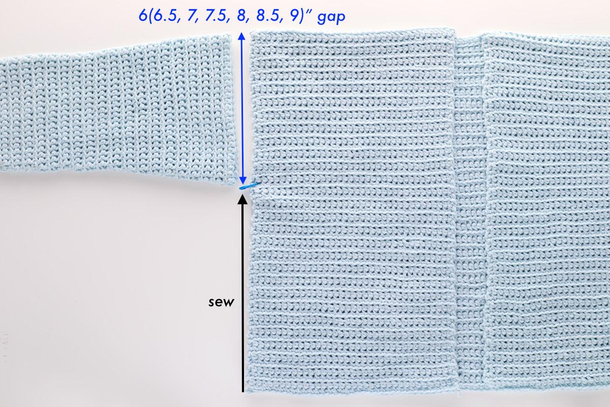 sew body cuddly cardigan crochet pattern