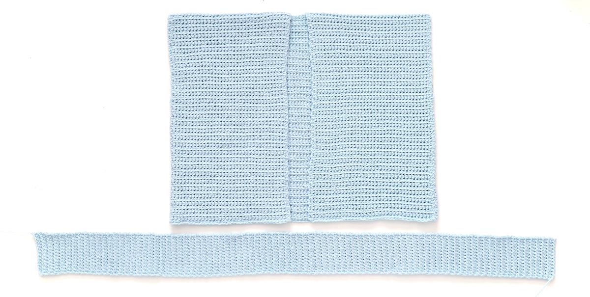 ribbing cuddly cardigan crochet pattern