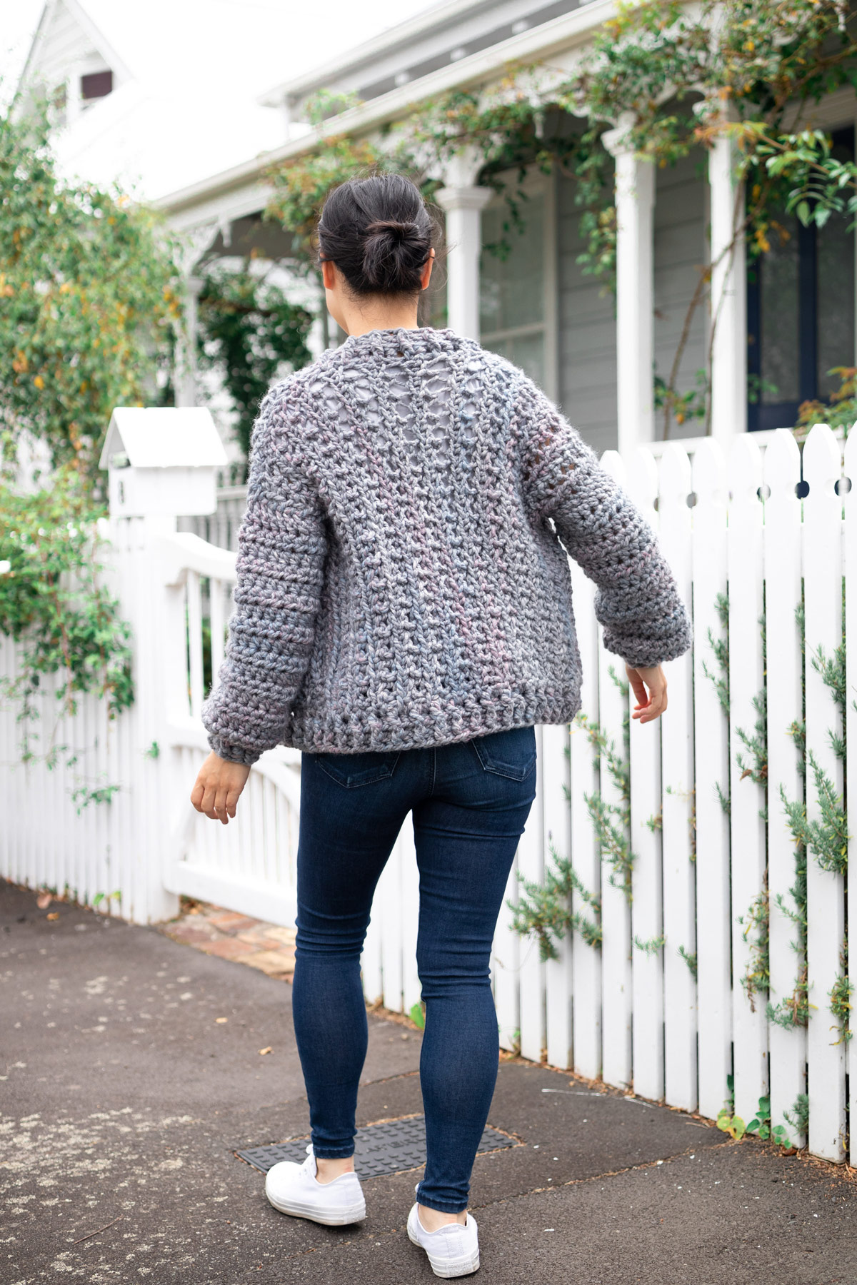 chunky sweater thick ribbing free crochet pattern