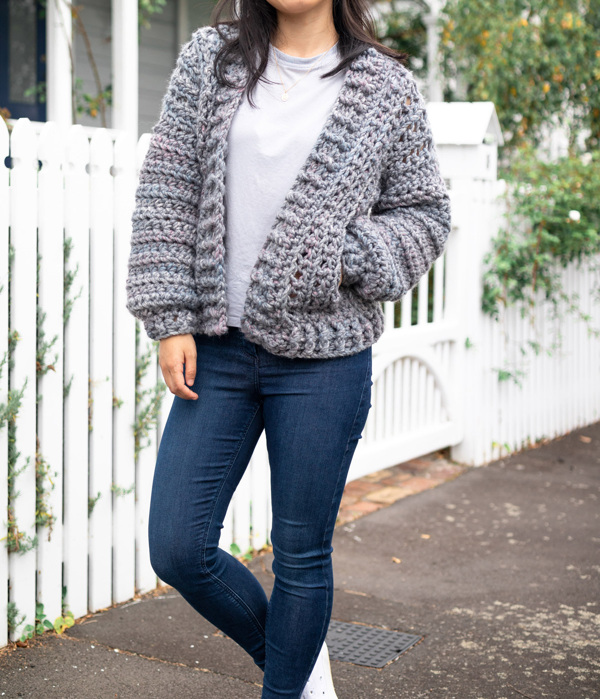 casual bomber jacket hand crochet free pattern