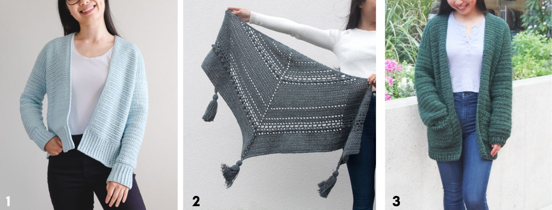 simple crochet cardigan free pattern video tutorial