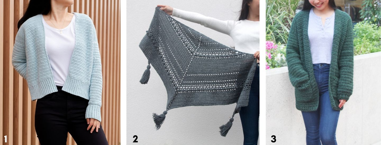 soft crochet cardigan bobble stitch wrap pocket cardigan sweater