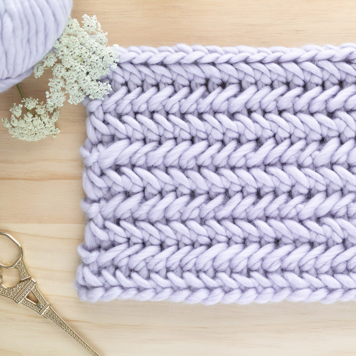 Herringbone Single Crochet Stitch Tutorial - For The Frills Crochetherringbonestitch - Crochet Tutorial