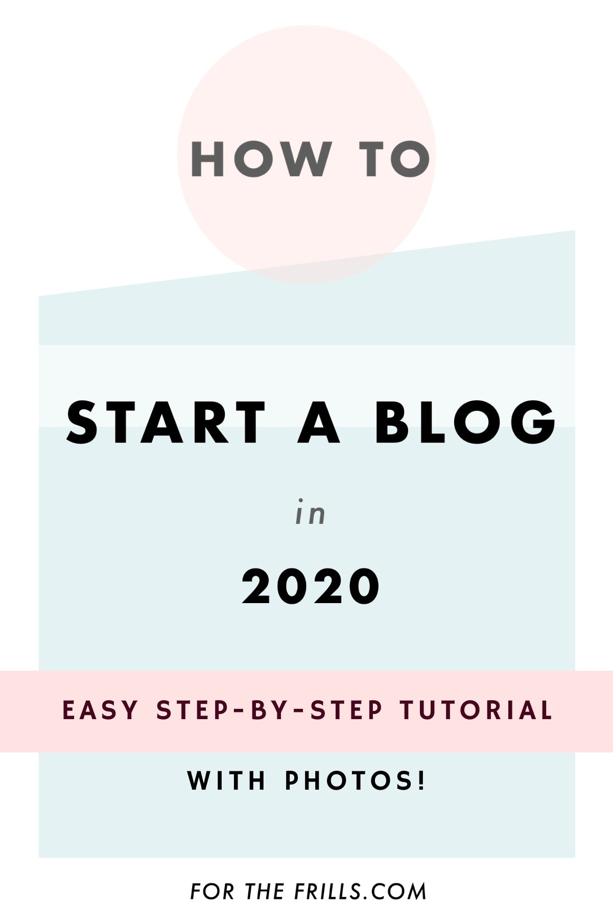 easy free start a blog tutorial for beginners