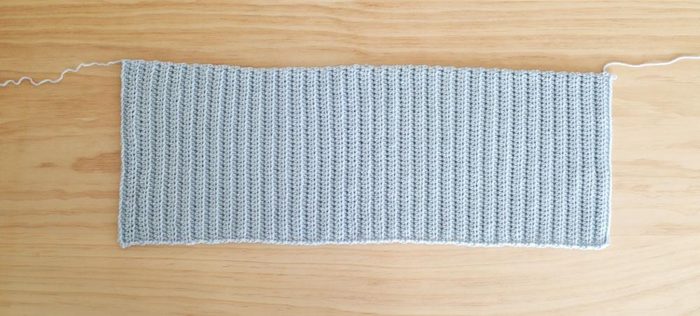 crop top free crochet pattern tutorial rectangle