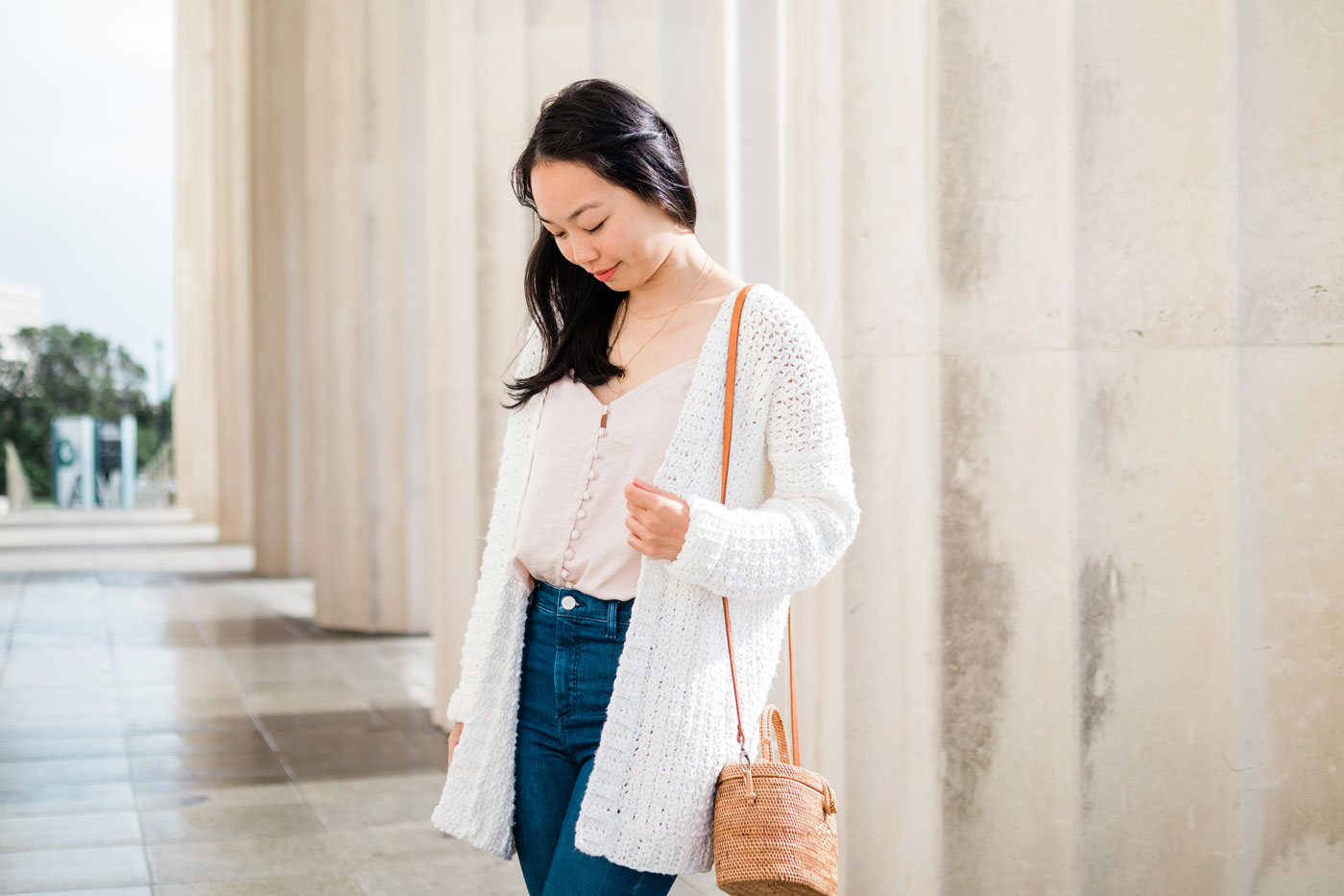 easy summer mesh crochet cardigan pattern