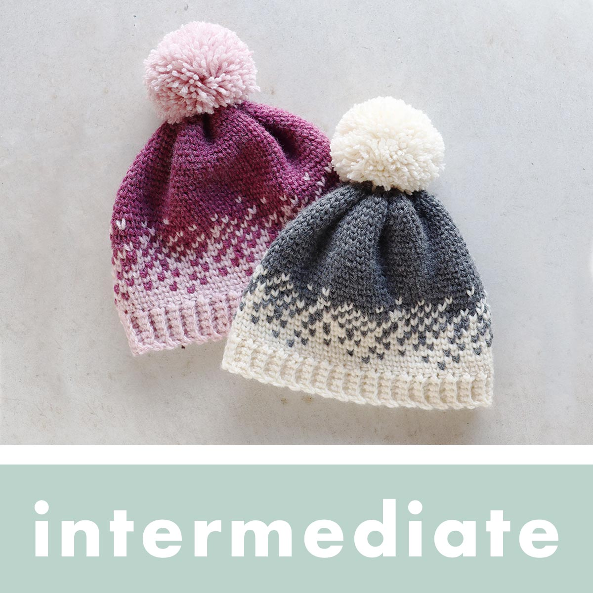 Intermediate Crochet Patterns