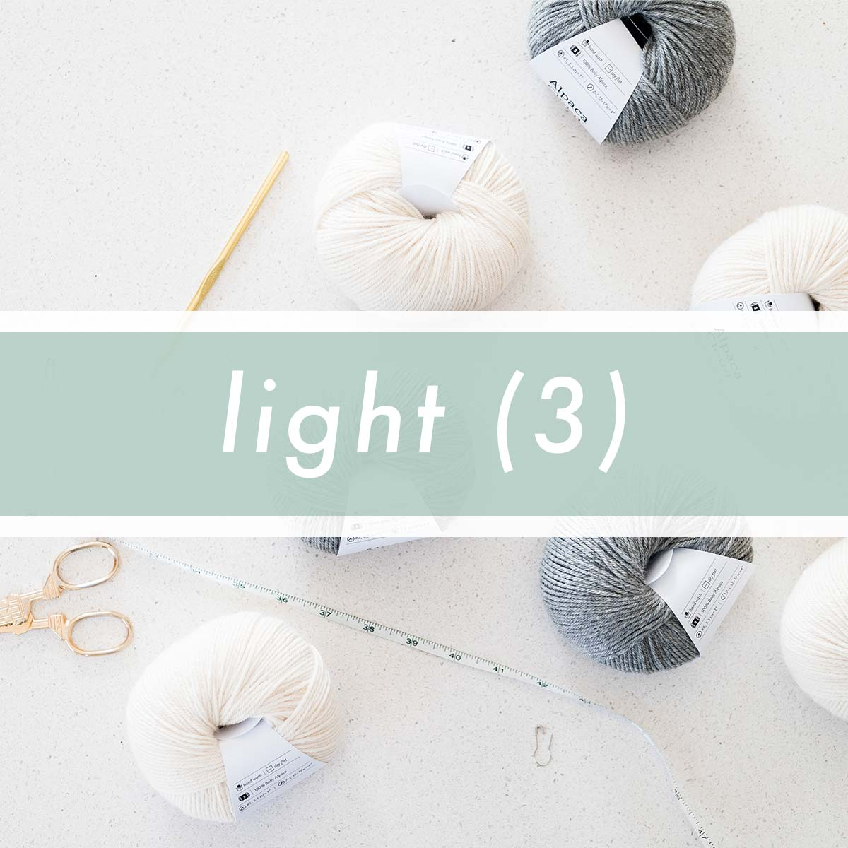 Light (3) / DK / 8ply Yarn Crochet Patterns