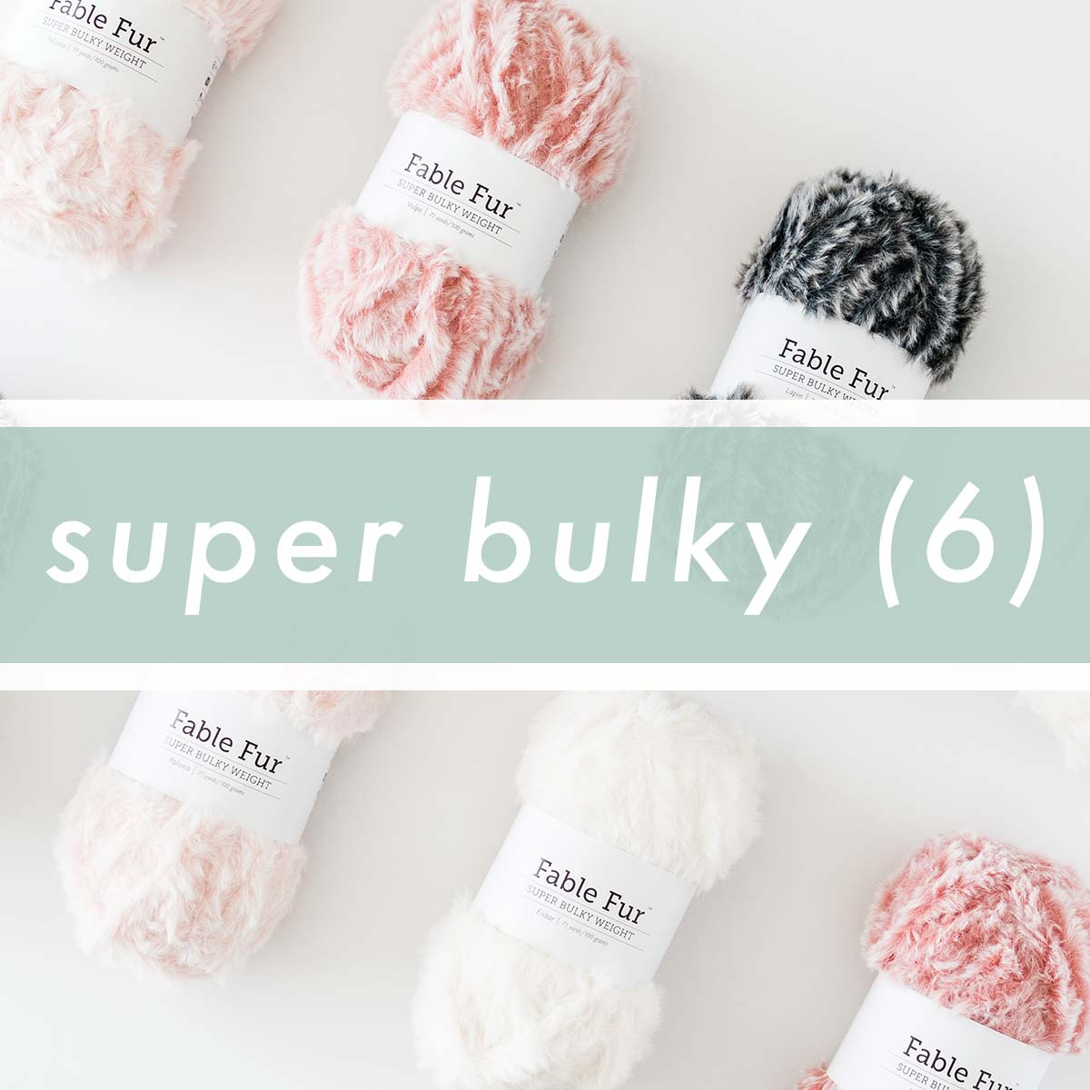 Super Bulky (6) / Super Chunky / 14ply Yarn Crochet Projects