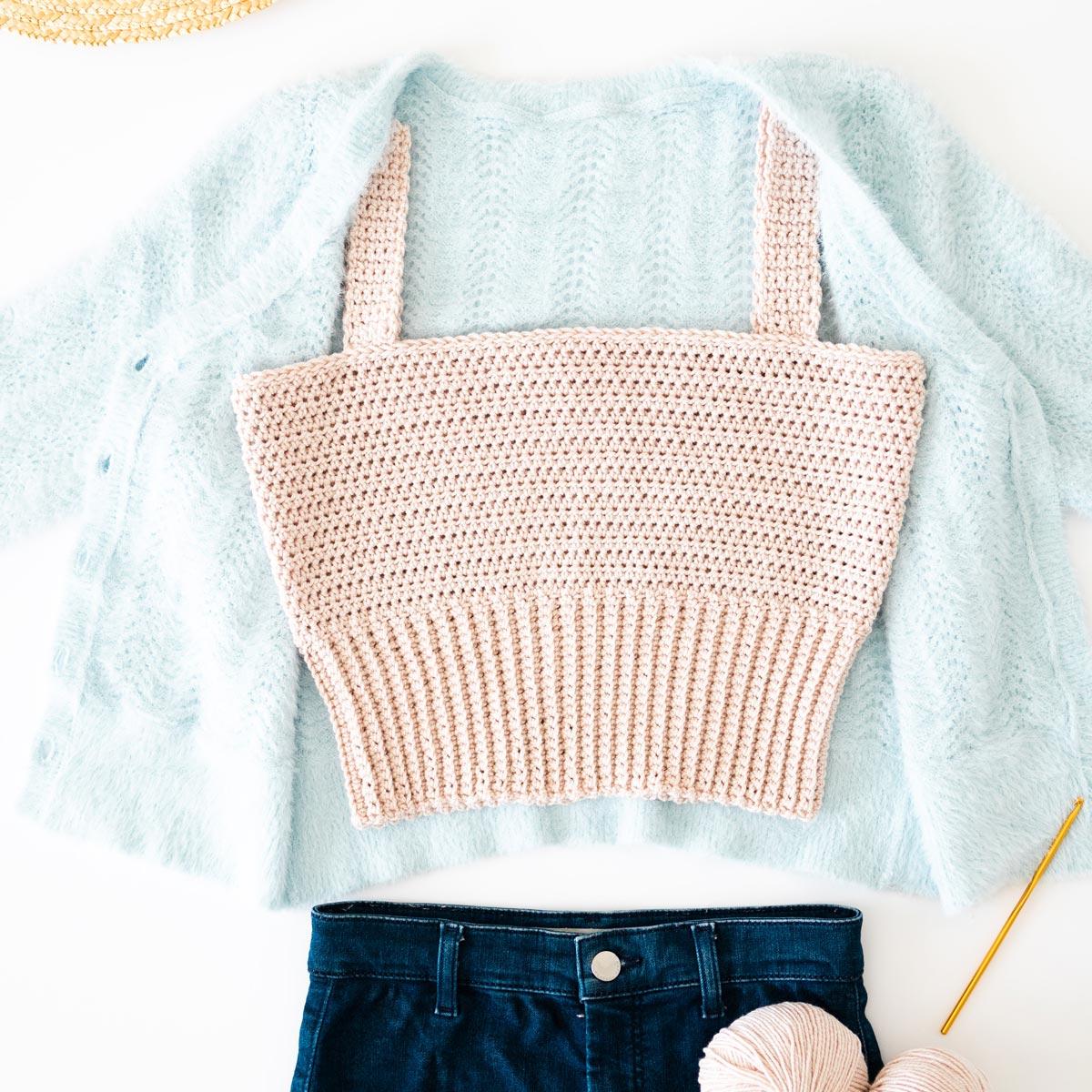 Crochet Crop Top Chapter Book Crop